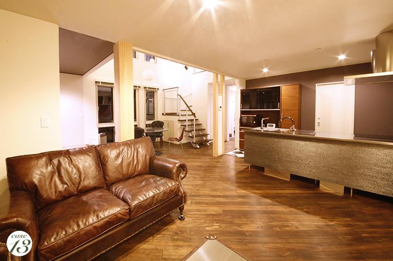 好きなデザインを集めて楽しむ家